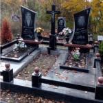 Пам'ятники з граніта, підвісні цоколя