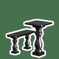 Столи, лавки з граніту