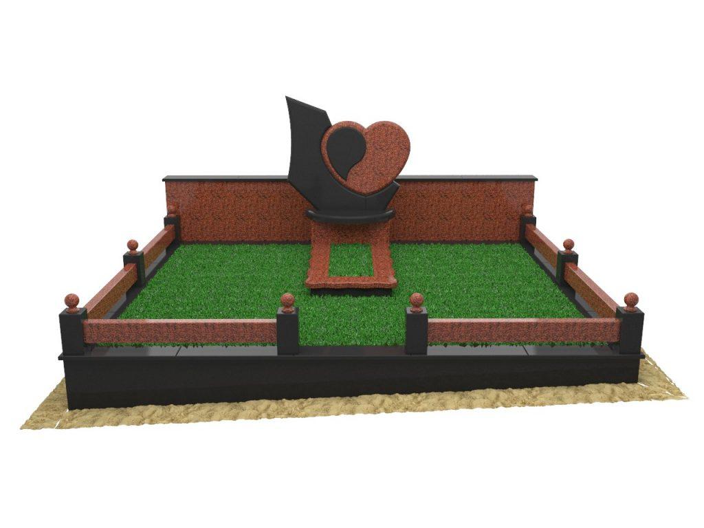Меморіальний комплекс з серцем