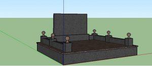 3D візуалізація пам'ятника