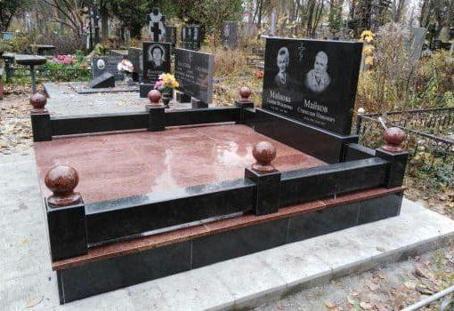 Меморіальний комплекс з комбінованого граніту