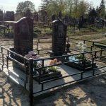Меморіальний комплекс  з двох одинарних пам'ятників