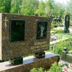 Памятник з червоного граніта 1